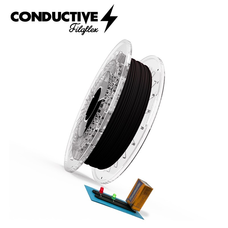 FILAFLEX CONDUCTIVE BLACK 1.75MM 500gr.